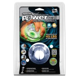 Powerball Platinum Gyro Exerciser with Green Lights