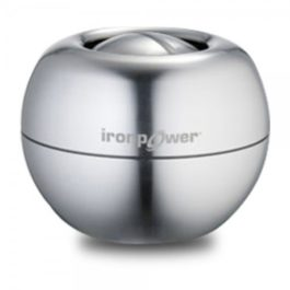 IronPower Silver Steel Gyro Exerciser