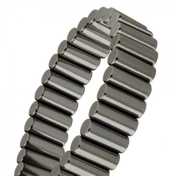 Magnalinx Gunmetal Magnetic Bracelet
