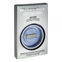 Magnalinx Silver Magnetic Bracelet