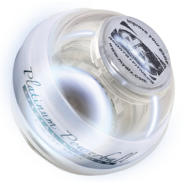 Powerball Platinum Gyro Exerciser with White Lights