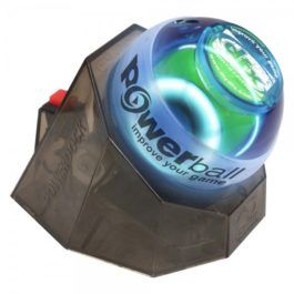 Powerball Blue Gyro Exerciser with PowerDock and Training CD