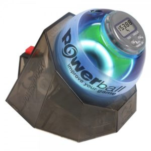 Powerball Gamer Blue Gyro Exerciser with PowerDock, Speedmeter and Training CD
