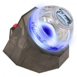 Powerball Platinum Gyro Exerciser with Blue Lights and PowerDock