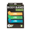 Resistant trainer body bands three pack