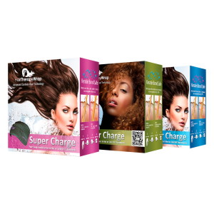 Hair-wrap three packages