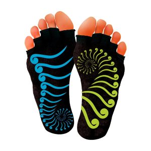 DFX yoga and Pilates socks