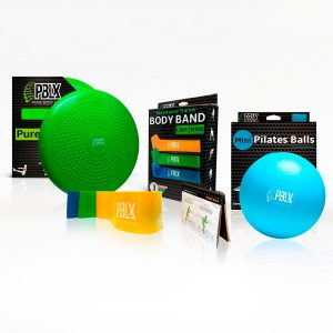 DFX exercise back Pilates ball bands stabilizer